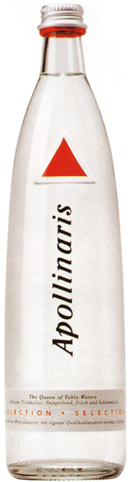 Apollinaris Mineral Water.