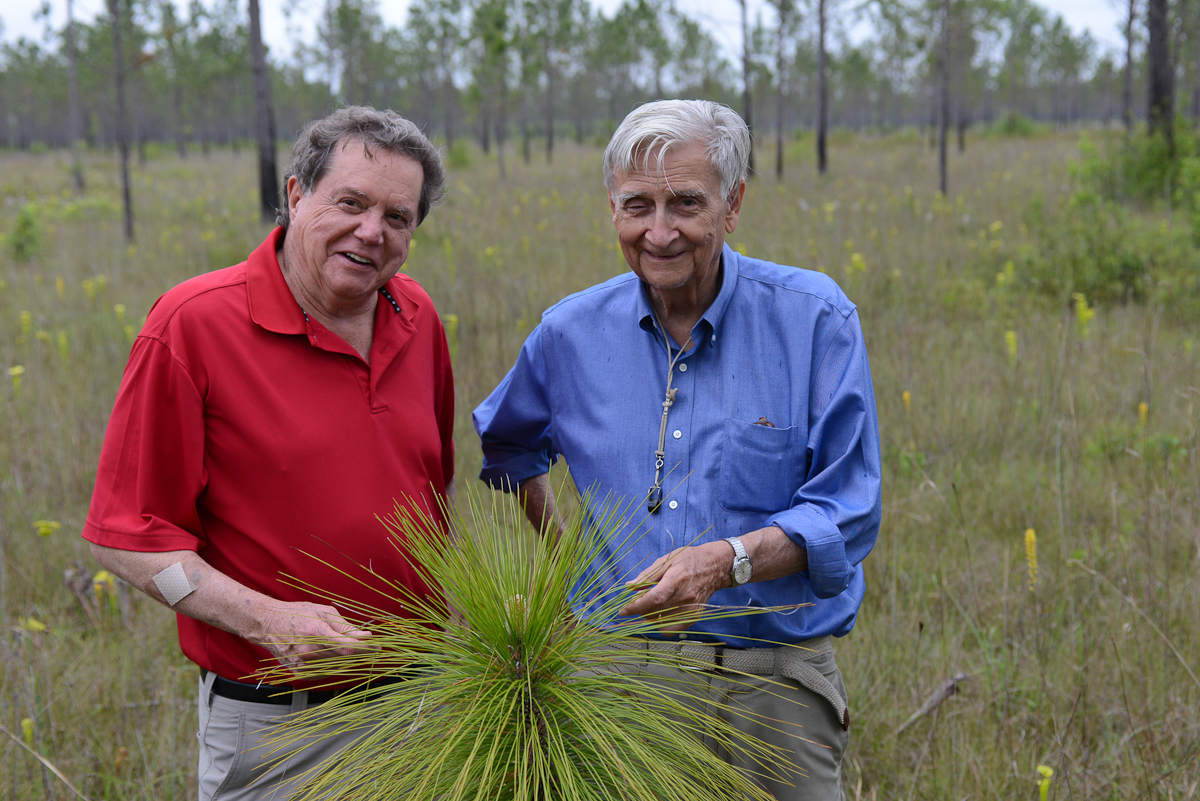 EO Wilson and MC Davis