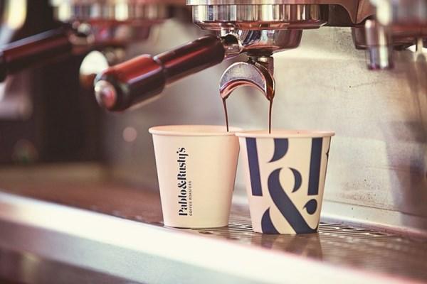 Австралийская сеть кофеен Pablo&Rusty's. Дизайн: Manual, San Francisco