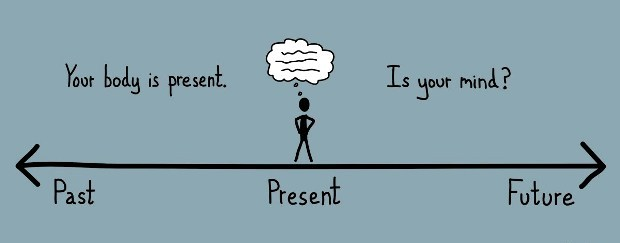 your body is present