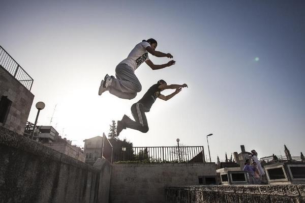 Freerun in air