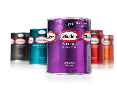 9 glidden paint cans Free Quart of Glidden Paint