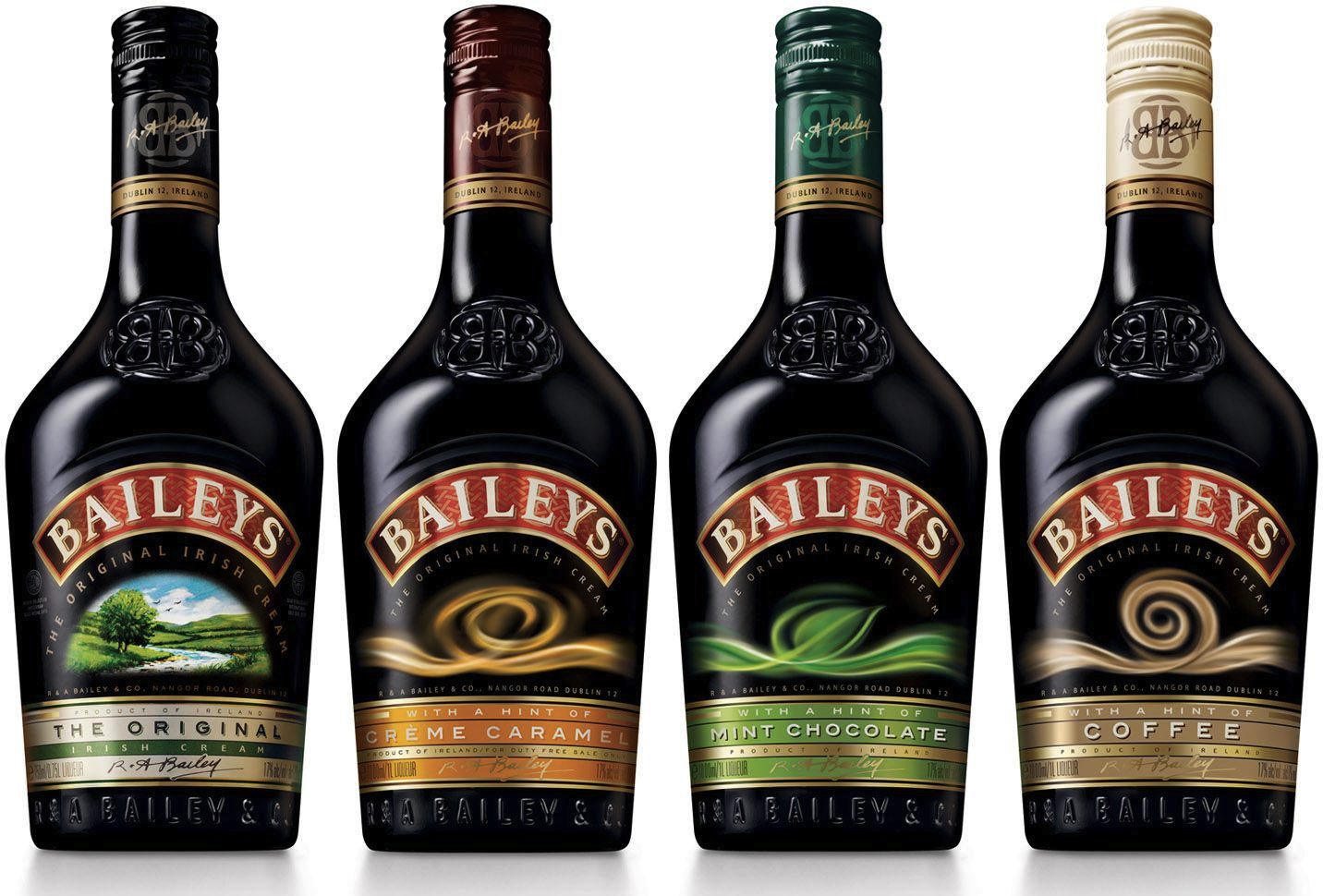 Baileys bottle gets a slimmer feminine look thanks to the for The bailey
