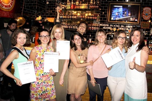 Фото: выпускники летнего курса Digital Branding 2014