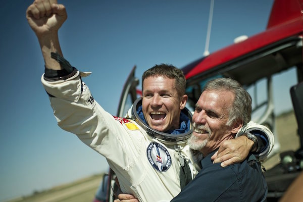 Felix Baumgartner (AUT) - Art Thompson (USA) - Action