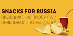 Snacks for Russia logo
