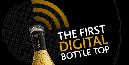 Strongbow Has Prototyped the World's First Digital Bottle Top