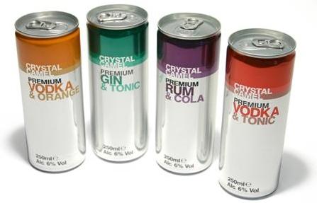 ...новую линейку слабоалкогольных напитков под брендом Crystal Camel.Gin...