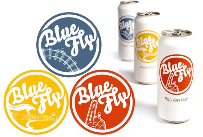 """Американские слабоалкогольные напитки Blue Fly - пример  """"белого..."""