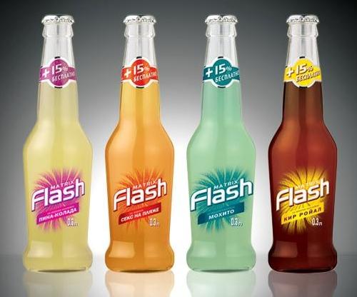...слобоалкогольного напитка Matrix Flash по заказу компании Veda.Проект...