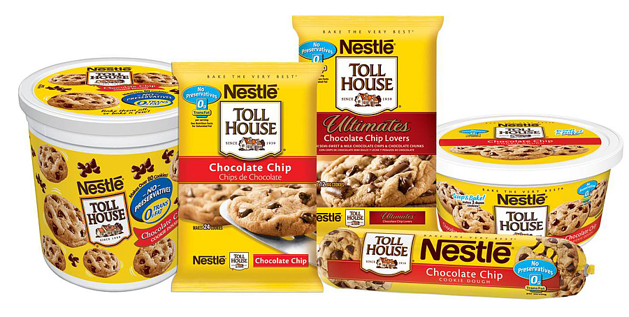 alle cookie s mor toll house sjokolade chip cookies