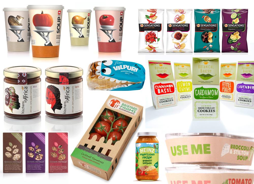 Образцы упаковки продуктов питания фото