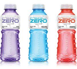 Coca-Cola выпустила новый функциональный PowerADE Zero без сахара.