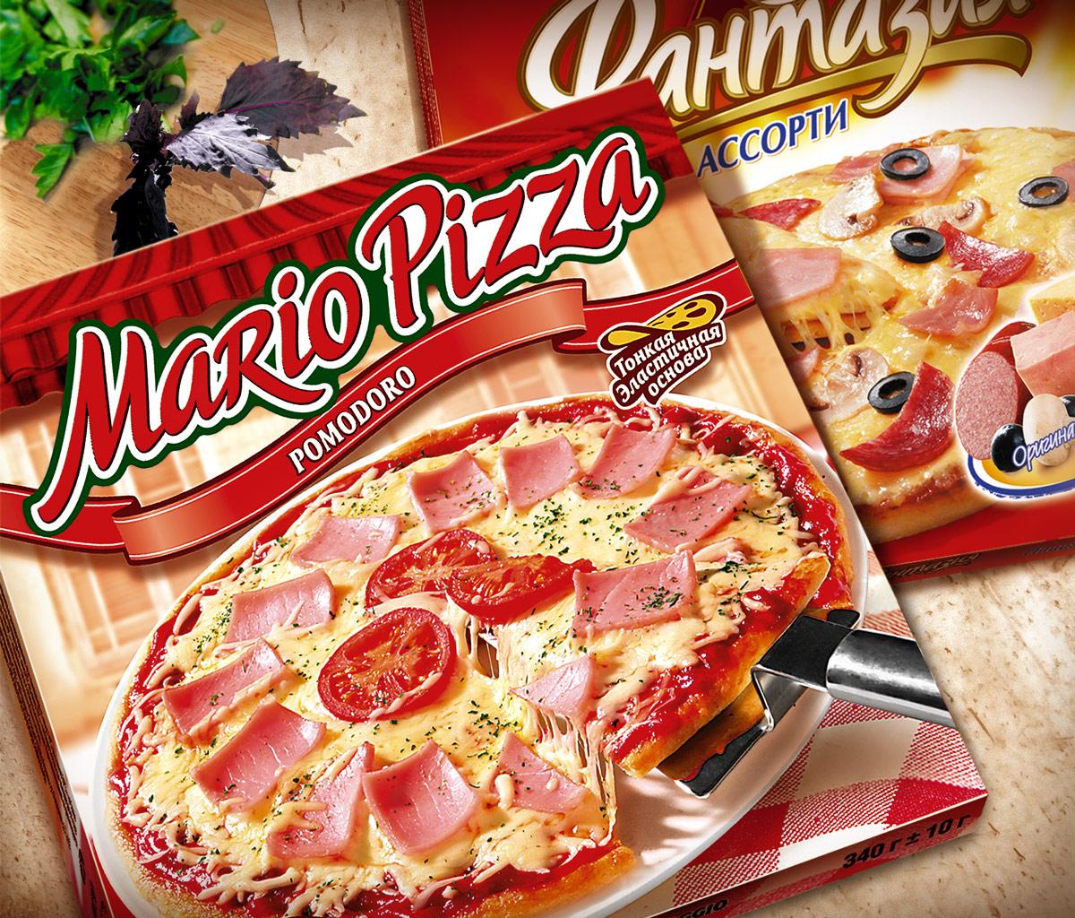 Дизайн коробки для пиццы