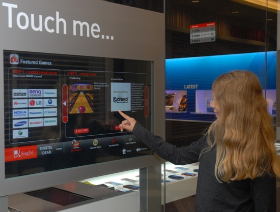 touchscreen_interactive_shopping_feature